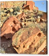 High Above The Campground Acrylic Print