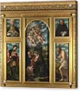 High Altarpiece S Alessandro Brescia Acrylic Print