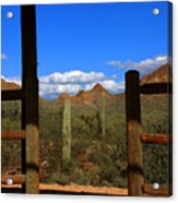 High Chaparral - Mountain View Acrylic Print