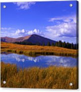 High Country Pond Acrylic Print