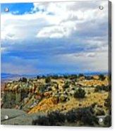 High Desert Ridge Acrylic Print