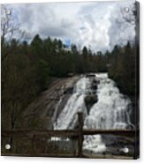 High Falls Dupont State Forest Acrylic Print