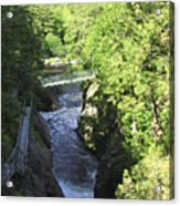 High Falls Gorge Acrylic Print
