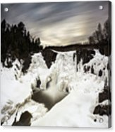 High Falls Long Expo 2017-03 Acrylic Print