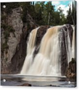 High Falls Of Tettegouche State Park 1 Acrylic Print