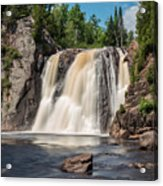High Falls Of Tettegouche State Park2 Acrylic Print