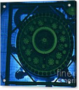 High Flux Isotope Reactor Pool Acrylic Print