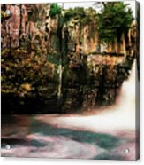High Force With A Watercolour Effect. Acrylic Print
