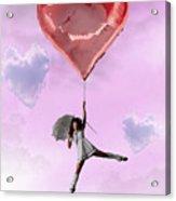 High In Love Acrylic Print by Crispin  Delgado