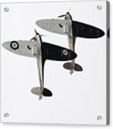 High Key Spitfires Acrylic Print