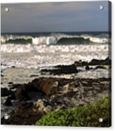 High Ocean Surf Acrylic Print