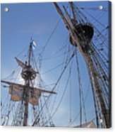 High On The Foremast Acrylic Print