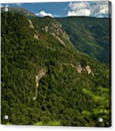 High On The White Mountains Acrylic Print