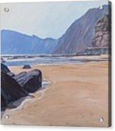 High Peak Cliff Sidmouth Acrylic Print