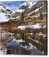 High Peak Reflections Acrylic Print