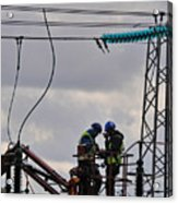 High Power Workers Acrylic Print