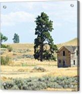 High Prairie Home Acrylic Print