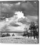 High Prairie Thunderheads Acrylic Print