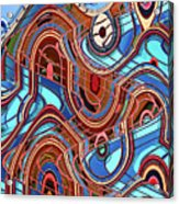 High Rise Abstract Phoenix Acrylic Print
