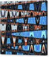 High Rise Construction Abstract # 4 Acrylic Print