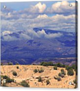 High Road To Taos Panorama Acrylic Print