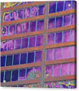High Roller Suites At The Flamingo Hotel Acrylic Print by Richard Henne