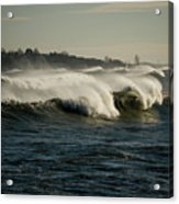 High Surf Acrylic Print