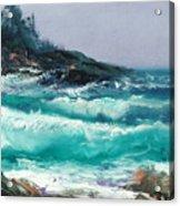 High Surf Acrylic Print