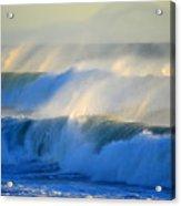 High Tide On The Atlantic Ocean Acrylic Print