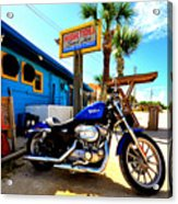 High Tides Harley Acrylic Print by Andrew Armstrong  -  Mad Lab Images