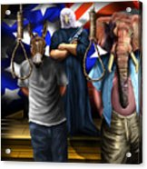 High Treason - State Of The Union-a House Divided1 Acrylic Print