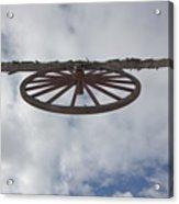 High Wagon Wheel Acrylic Print