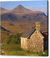 Highland Cottage At Elphin Acrylic Print