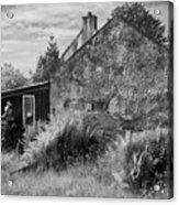 Highland Cottage Kilchoan Ardnamurchan Acrylic Print