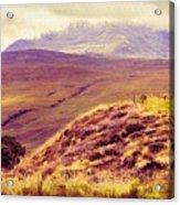 Highland Landscape Acrylic Print