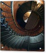 Highland Lighthouse Stairs Cape Cod Acrylic Print