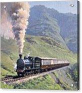 Highland Steam Acrylic Print