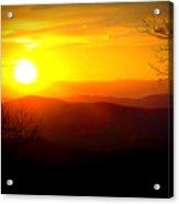 Highland Sunset Acrylic Print
