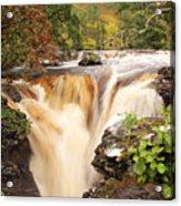 Highland Waterfall Dundonnell River Acrylic Print