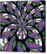 Highrise Kaleidoscope Acrylic Print