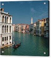 Hight Tide In Venice Acrylic Print