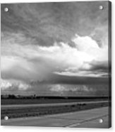 Highway 5 Clouds Acrylic Print