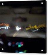 Highway Hypnosis Acrylic Print