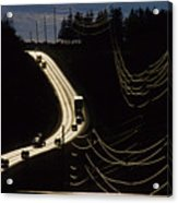 Highway Sunset Acrylic Print