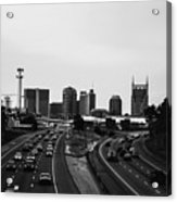 highway to Music City Acrylic Print