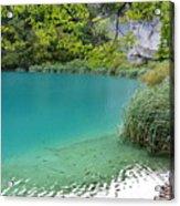 Hiking Kaluderovac Lake Acrylic Print
