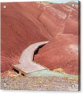 Hiking Loop Boardwalk At Painted Hills Cove Acrylic Print