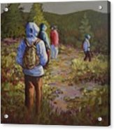 Hiking The Paintbrush Trail, Manning Provincial Park, B. C., Revisited Acrylic Print