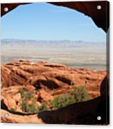 Hiking Through Arches Acrylic Print