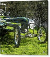 Hill Climb Car Acrylic Print